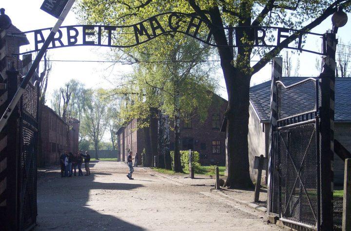 Brama do obozu Auschwitz