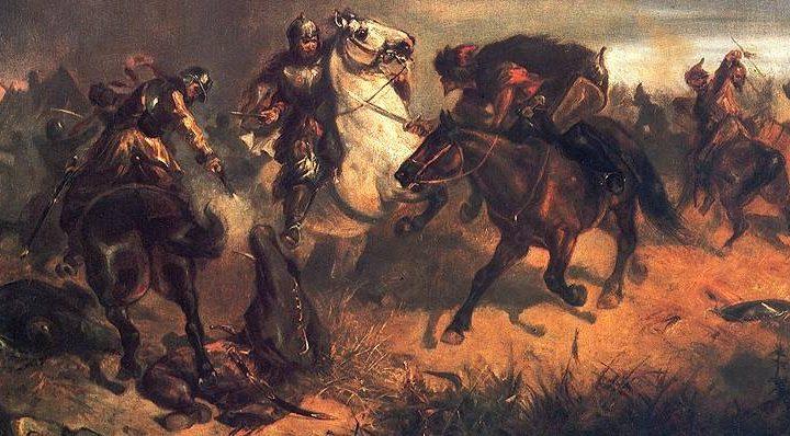 Maksymilian Gierymski, Potyczka z Tatarami (1867 r.)