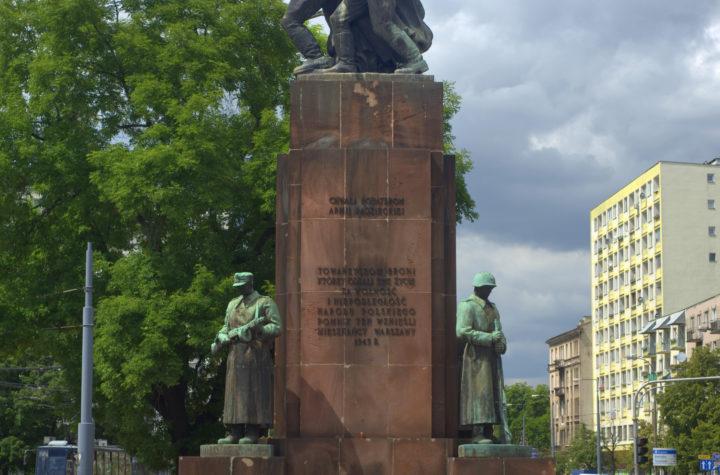 Pomnik Braterstwa Broni w Warszawie, 2010 r.