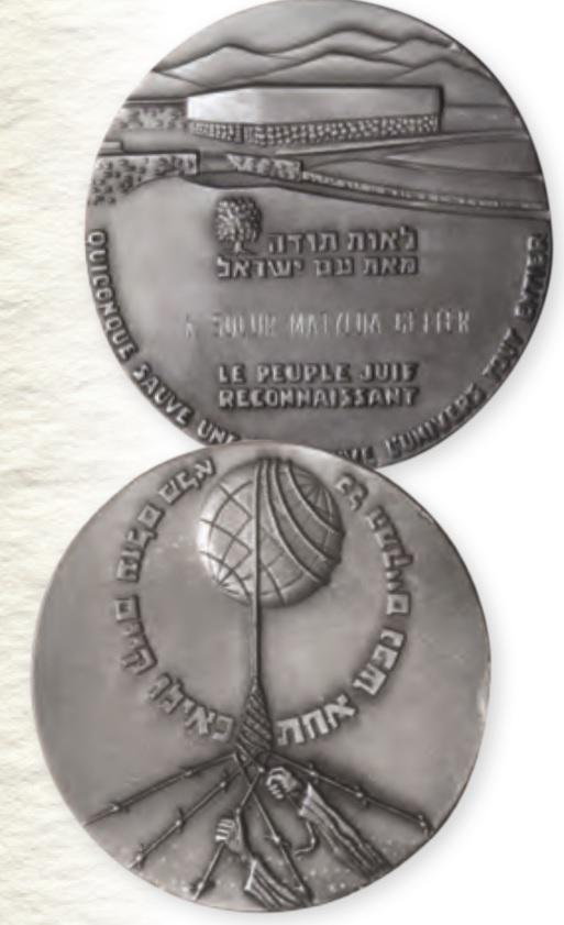 Medal Sprawiedliwi Wśród Narodów Świata