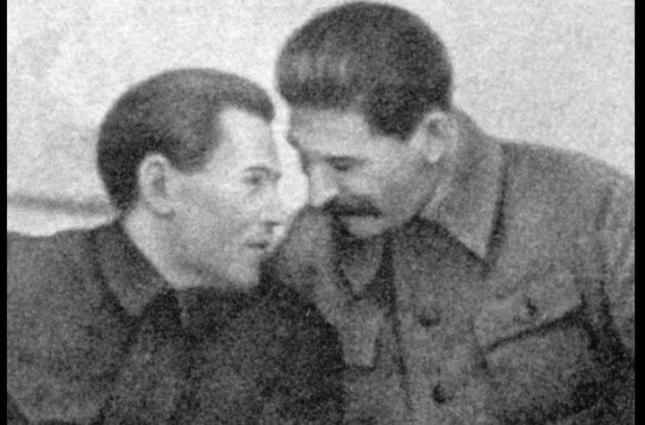 Nikołaj Jeżow i Józef Stalin
